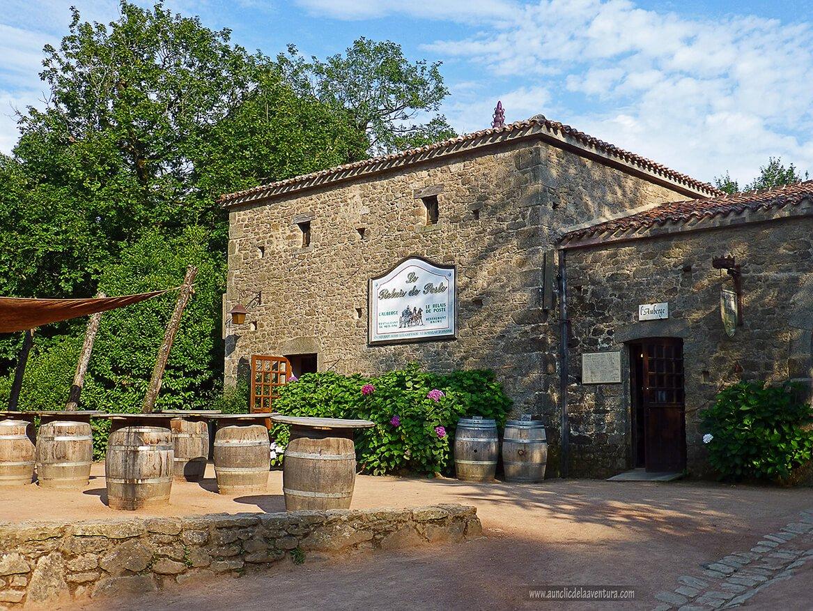 La villa del siglo XVIII - Parque temático Puy du Fou de Francia