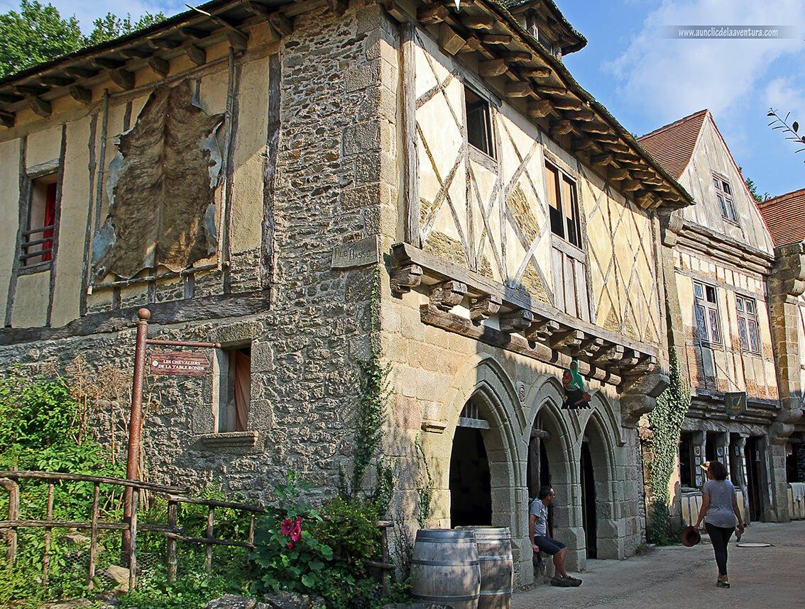 La ciudad medieval - Parque temático Puy du Fou de Francia