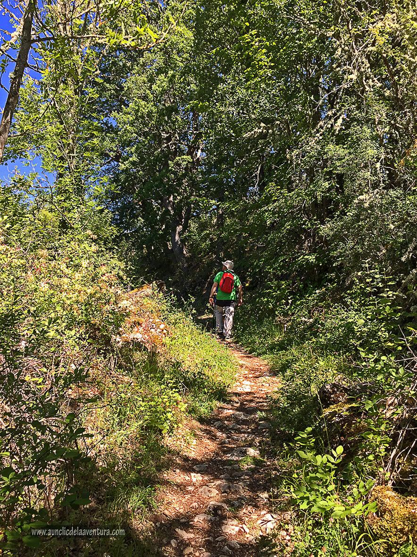 Llegando a Siero - ruta desde Valdelateja hasta la ermita de Castrosiero