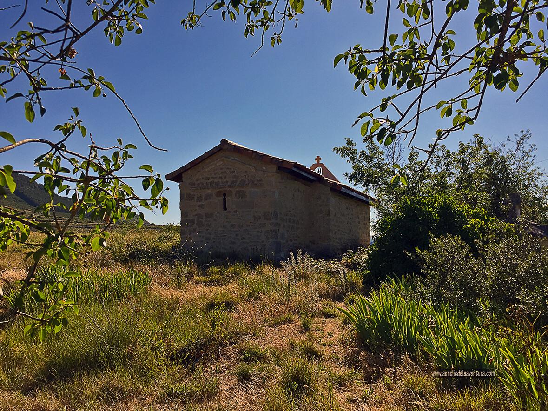 Ermita de las Santas Elena y Centola - ruta desde Valdelateja hasta la ermita de Castrosiero