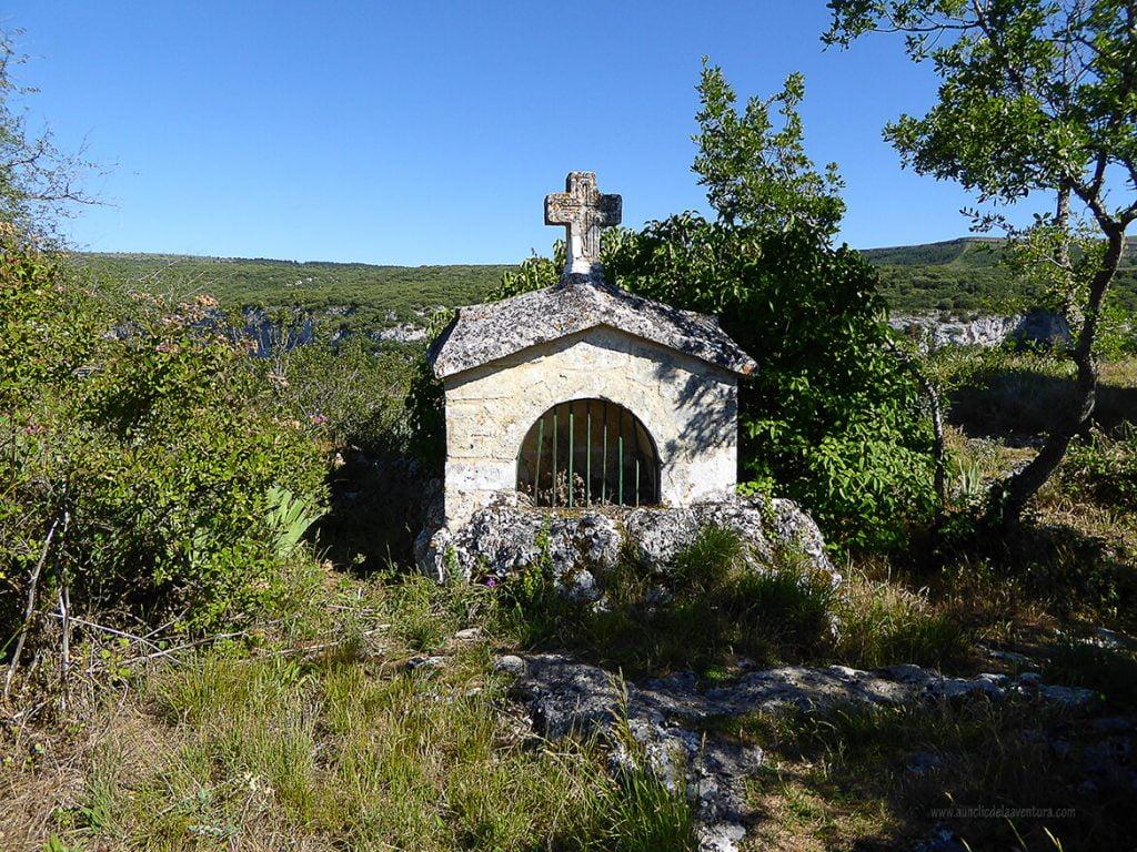 Lugar del martirio de las santas, según la leyenda - ruta desde Valdelateja hasta la ermita de Castrosiero