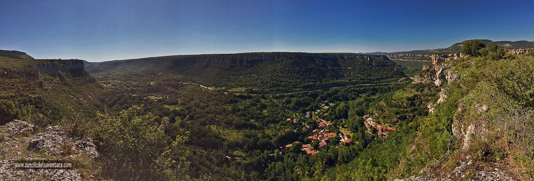 Panorámica desde Castrosiero - ruta desde Valdelateja hasta la ermita de Castrosiero