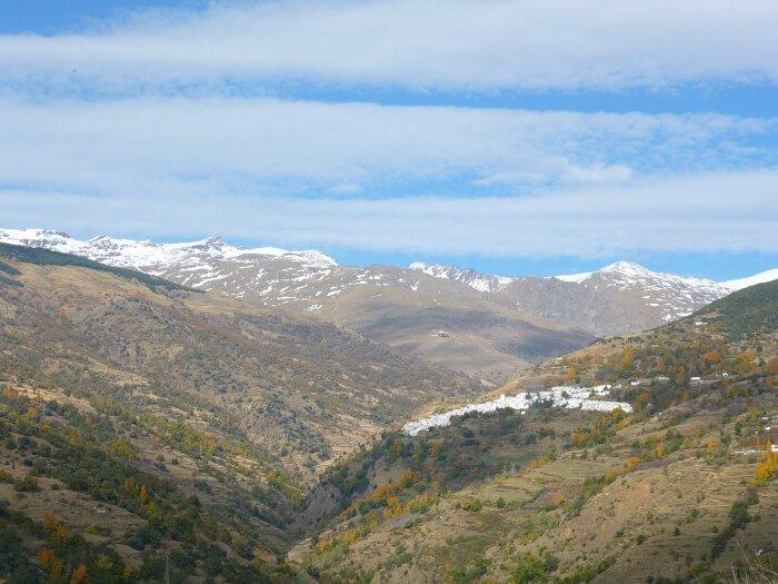 Barrando del Poqueira - escapadas de otoño en España