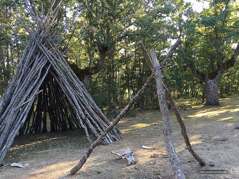 Campamento paleolítico