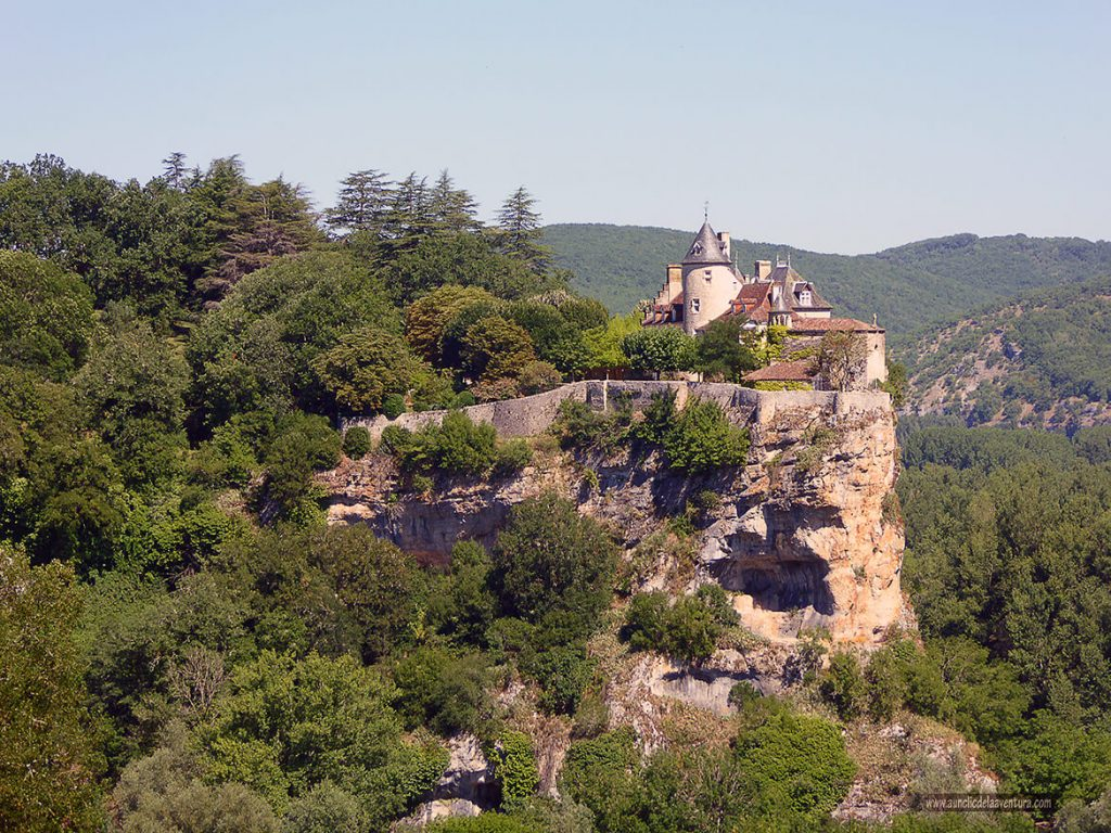 Château de Belcastel de camino a Rocamadour