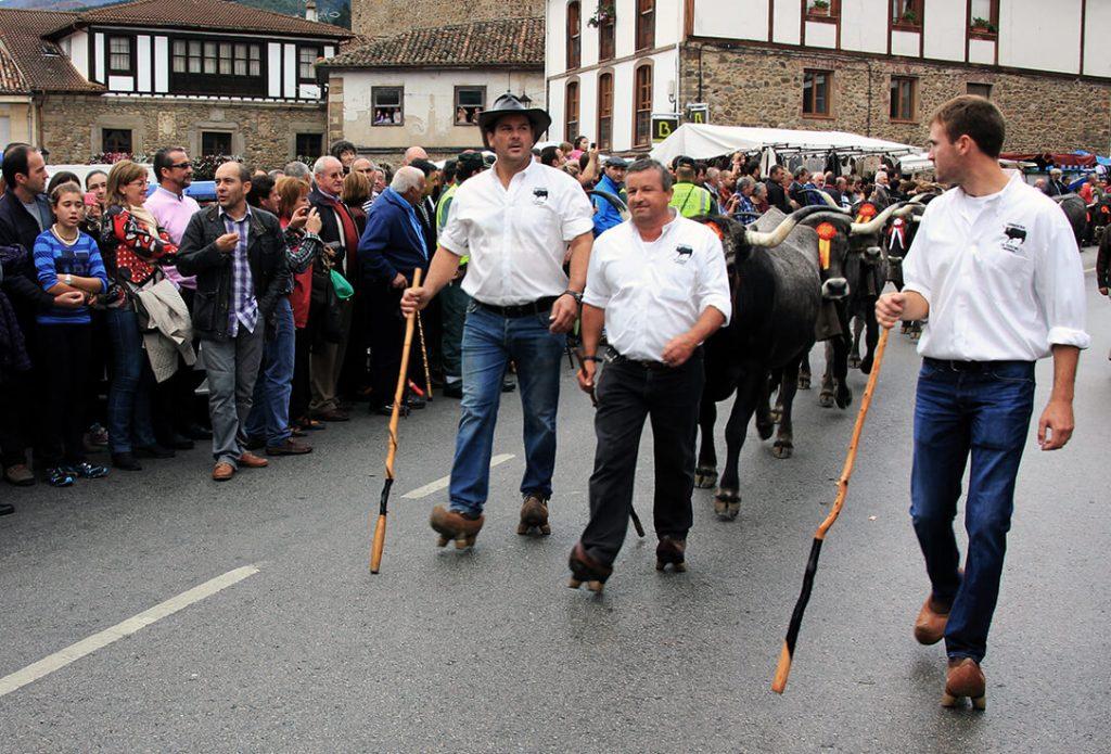 Feria de ganado de Potes (Cantabria) - escapadas de otoño en España