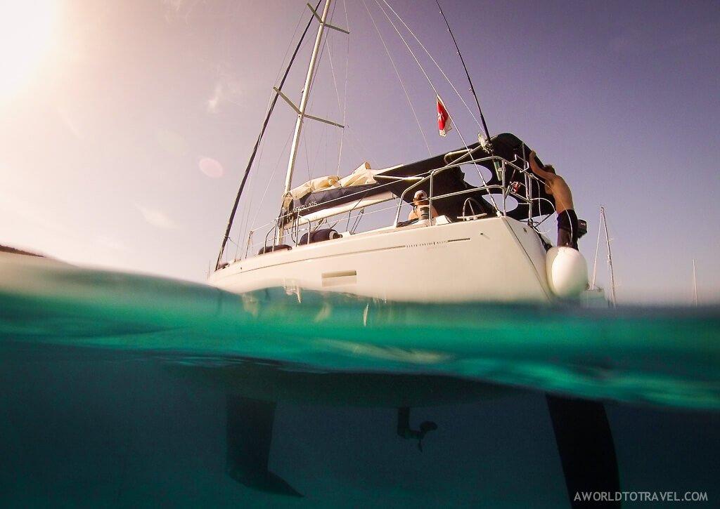 Navegando en velero por Malta