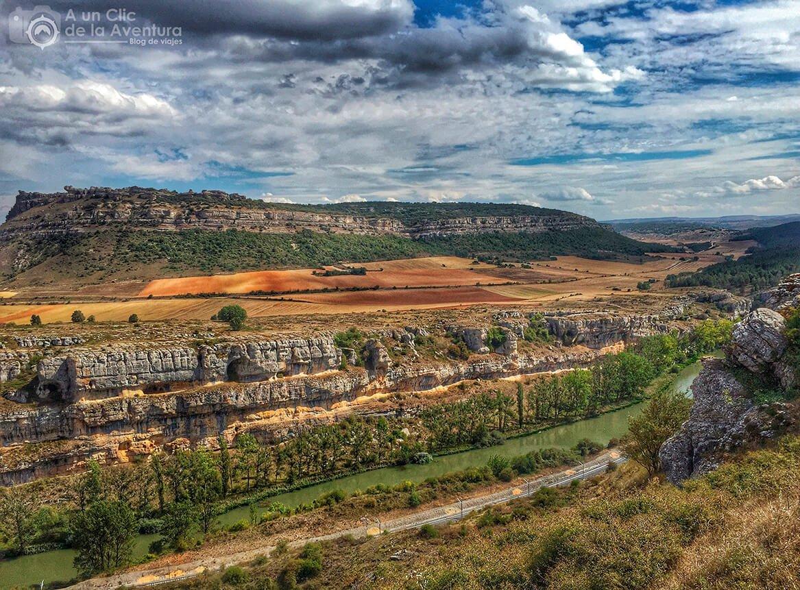 Cañón de La Horadada y Monumento Natural de Las Tuerces cerca de Olleros de Pisuerga