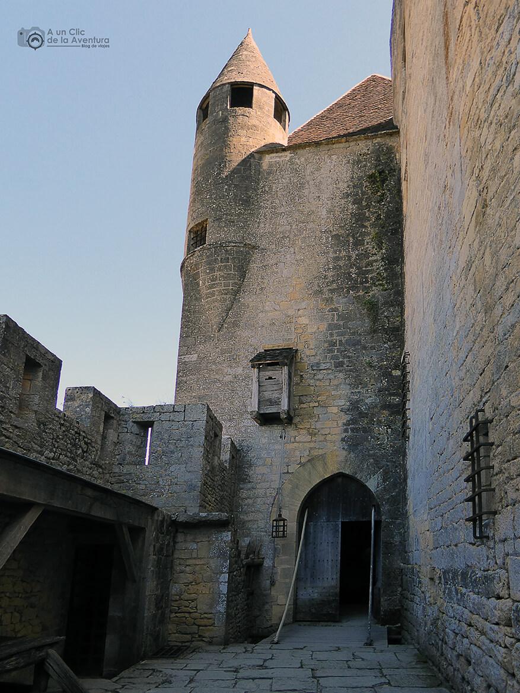Sistema de defensa del Castillo de Beynac