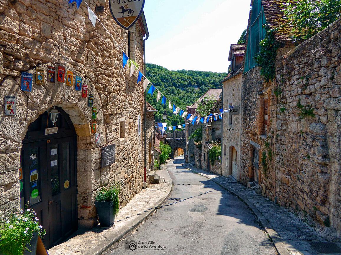 Hacia la Porte Basse - Qué visitar en Rocamadour
