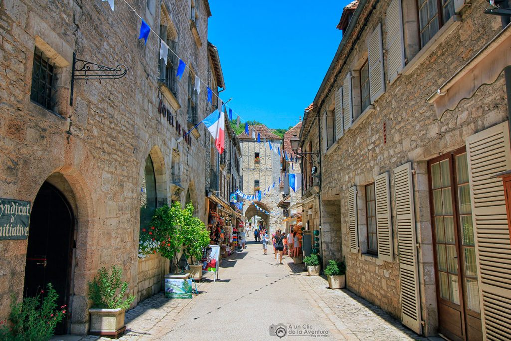 Calle Roland le Preux de Rocamadour - Qué visitar en Rocamadour