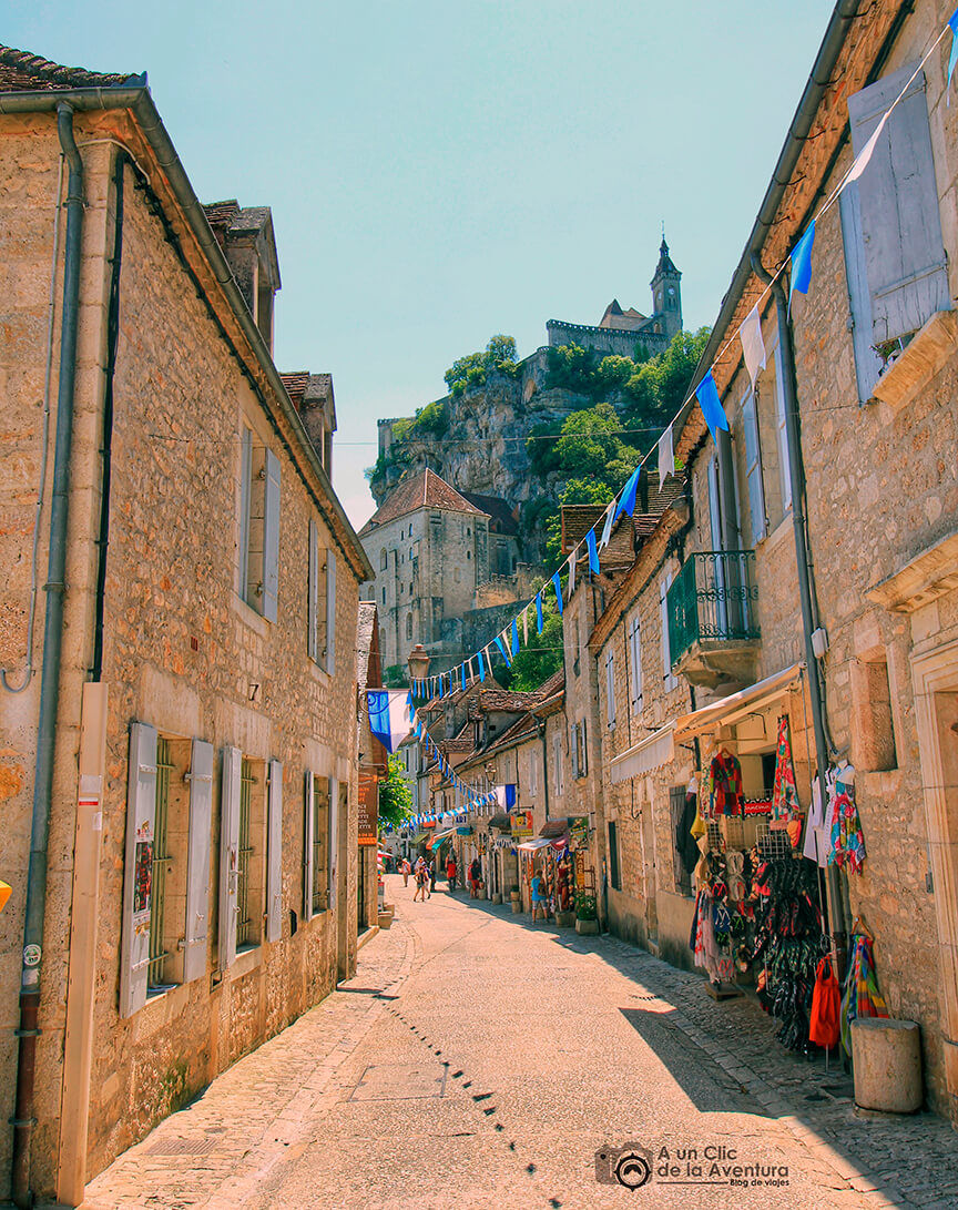 Calle Roland le Preux - Qué visitar en Rocamadour