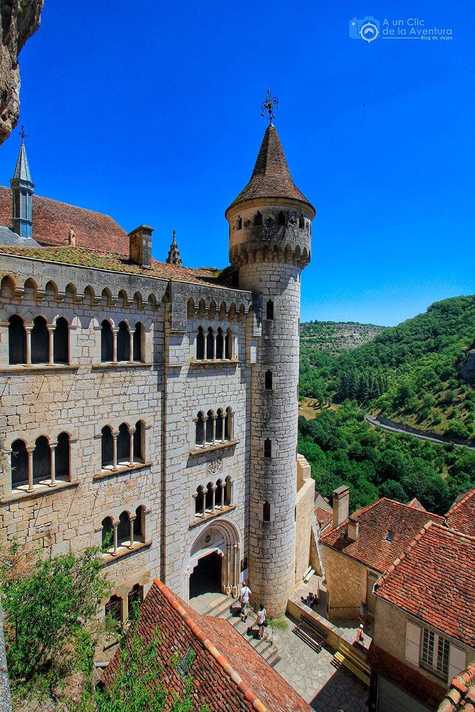 Exterior del Santuario de Rocamadour -Qué visitar en Rocamadour