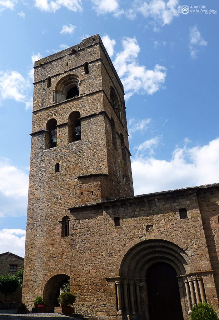 Iglesia de Santa María de Aínsa