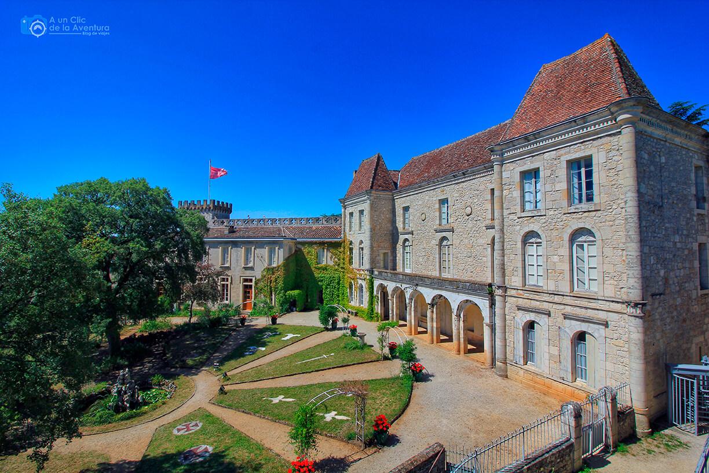 Jardines del Castillo de Rocamadour