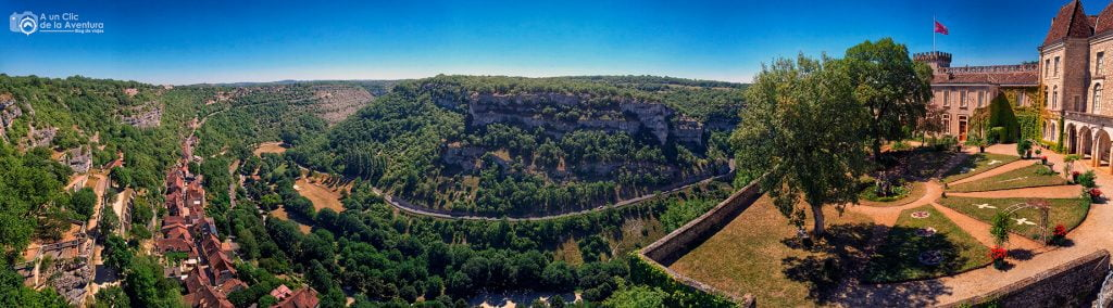 Panorámica de Rocamadour - Qué visitar en Rocamadour