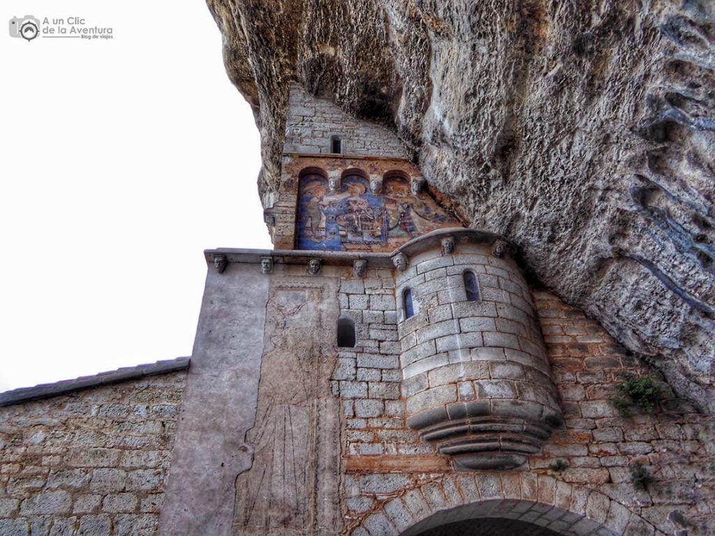 Pinturas románicas del santuario de Rocamadour - Qué visitar en Rocamadour