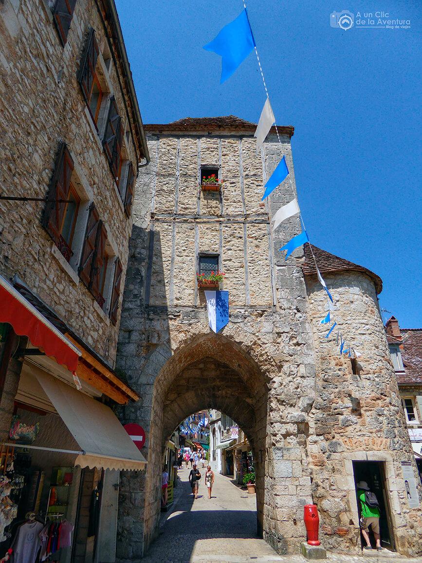 Porte Salmon -Qué visitar en Rocamadour