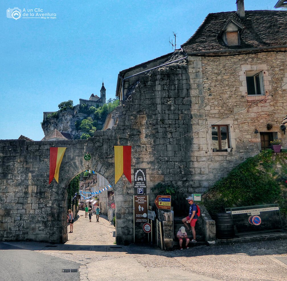 Porte du Figuier - Qué visitar en Rocamadour