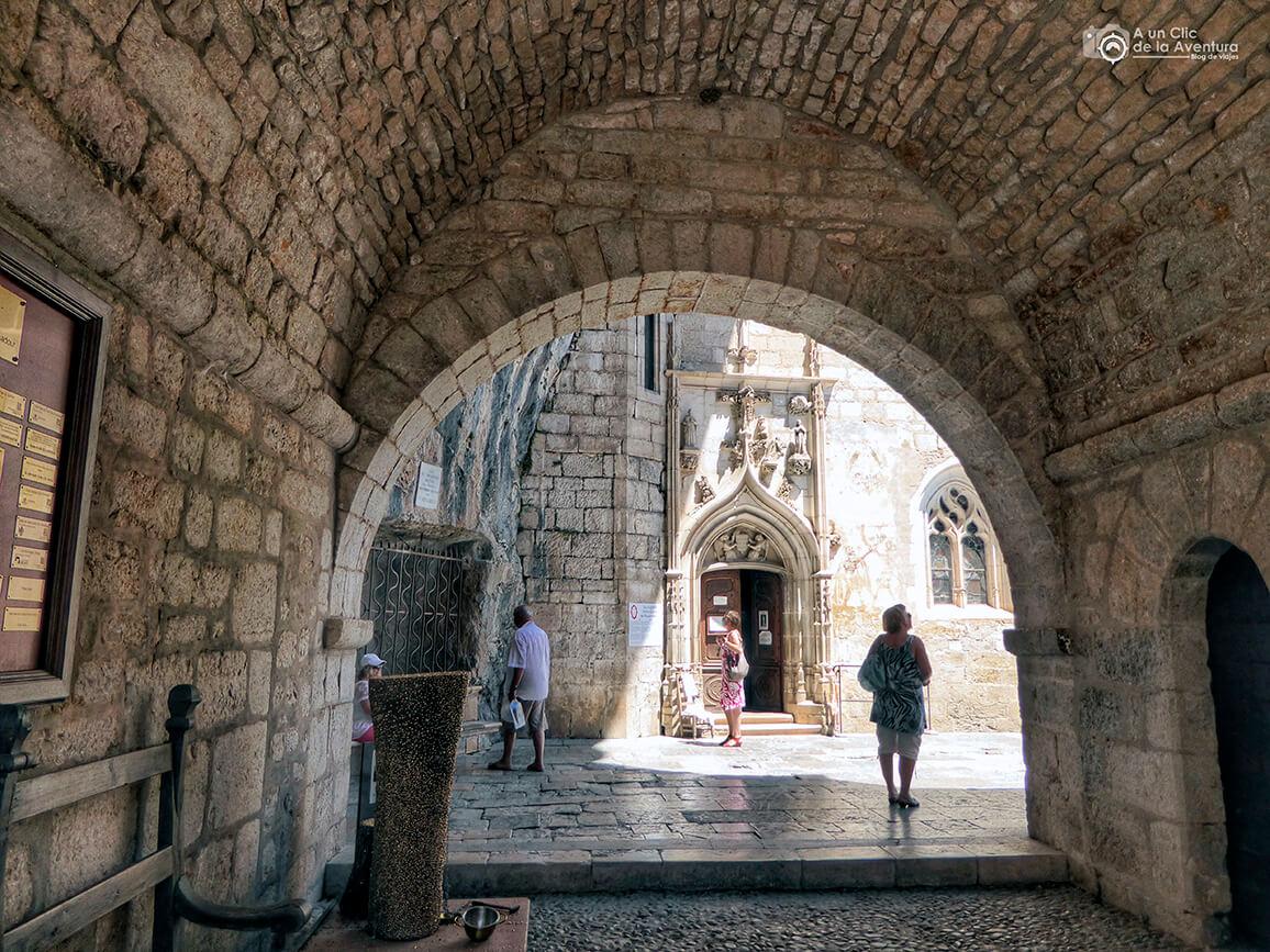 Recinto del Santuario de Rocamadour - Qué visitar en Rocamadour