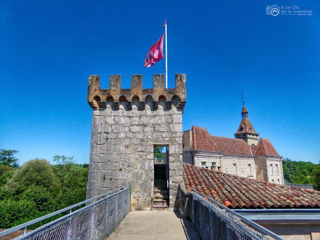 Paseo por las almenas del Castillo de Rocamadour - Qué visitar en Rocamadour