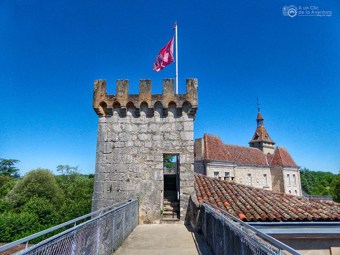Paseo por las almenas del Castillo de Rocamadour