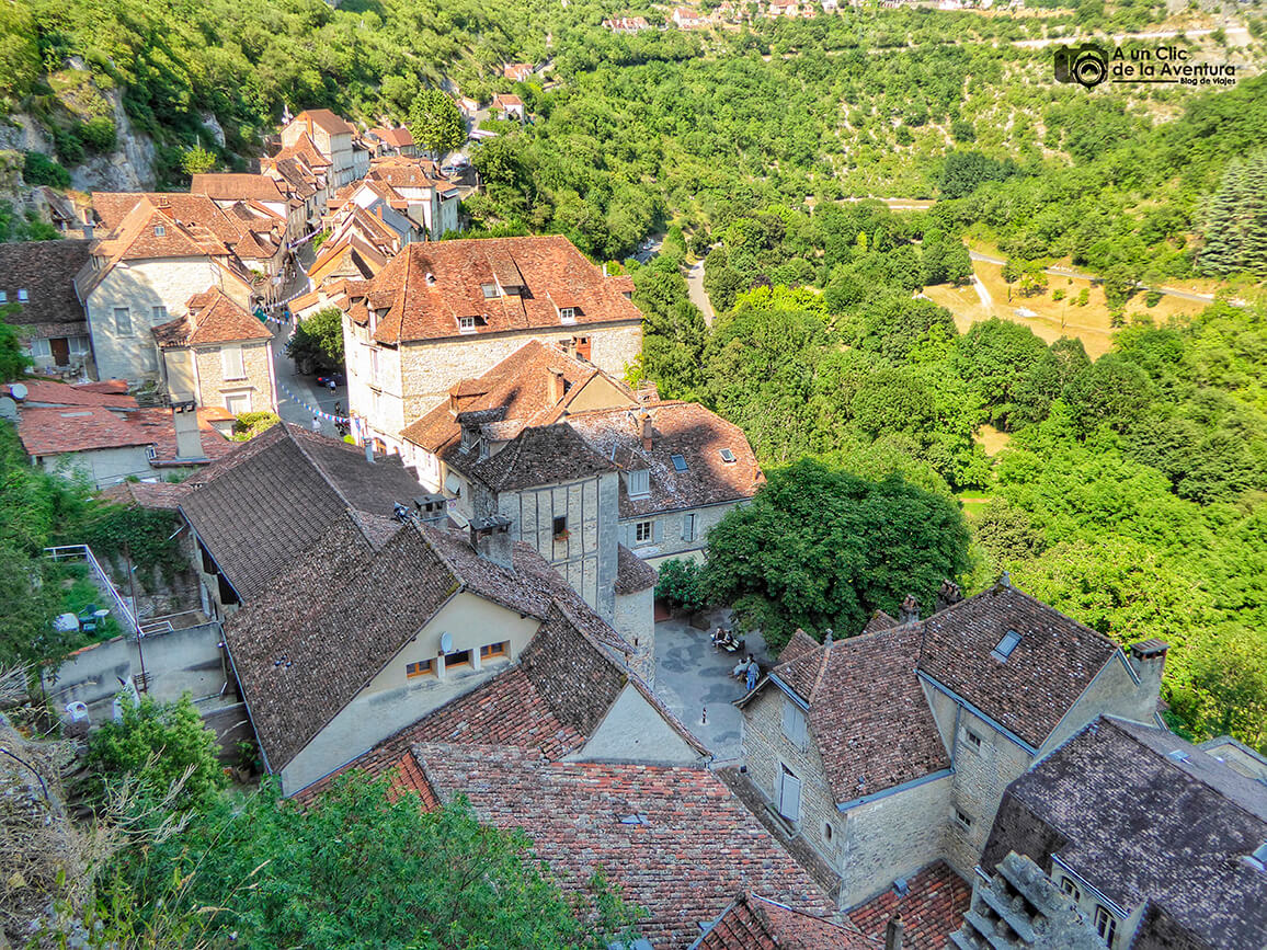 Vista del pueblo desde el Santuario
