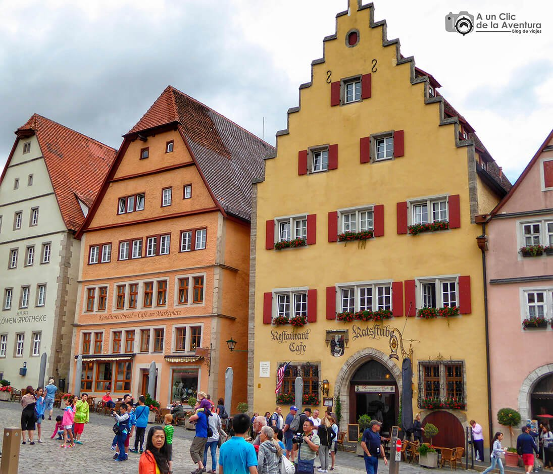 Afluencia de japoneses en Rothenburg ob der Tauber - cómo visitar Rothenburg ob der Tauber