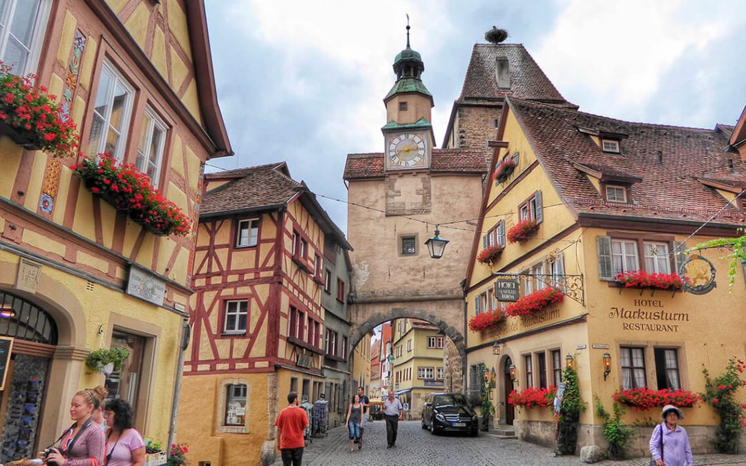Rothenburg ob der Tauber, la ciudad alemana que fascina a los japoneses (I)