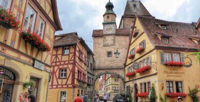 Arco de Roder y Torre de San Marcos - cómo visitar Rothenburg ob der Tauber