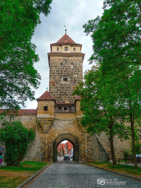 Galgentor o Puerta de la Horca - cómo visitar Rothenburg ob der Tauber