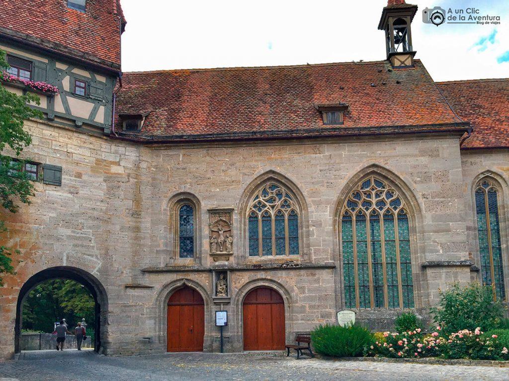 Iglesia de San Wolfgang- qué ver en Rothenburg ob der Tauber