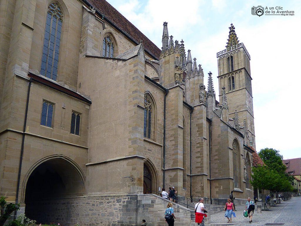 Iglesia de Santiago de Rothenburg ob der Tauber - qué ver en Rothenburg ob der Tauber