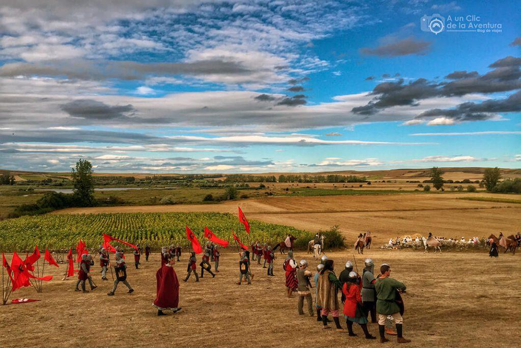 Representación de la Batalla de Atapuerca - alrededores de Burgos