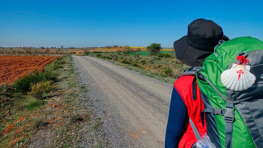 Camino de Santiago a su paso por Burgos