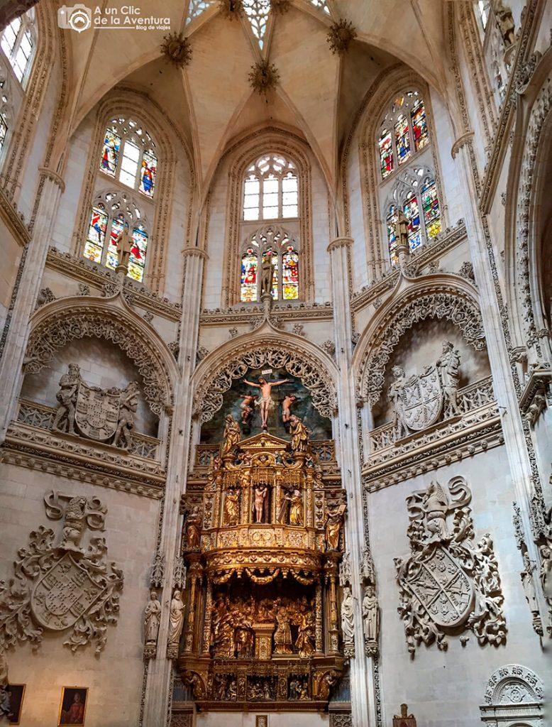 Capilla del Condestable de la Catedral de Burgos - rincones secretos de Burgos