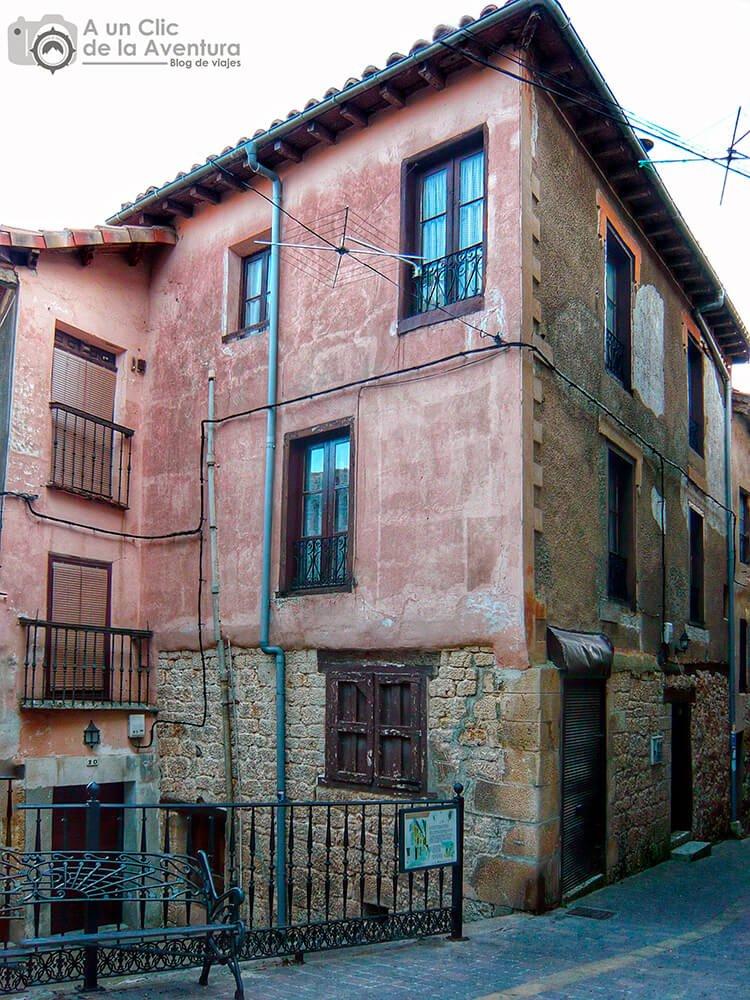 Casa natal de Félix Rodríguez de la Fuente en Poza de la Sal