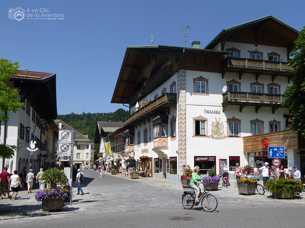 Centro histórico de Mittenwald