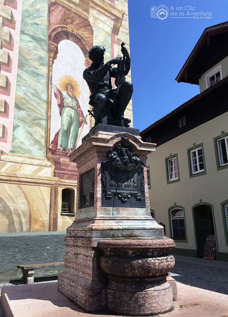 Monumento a Matthias Klotz, qué ver en Mittenwald