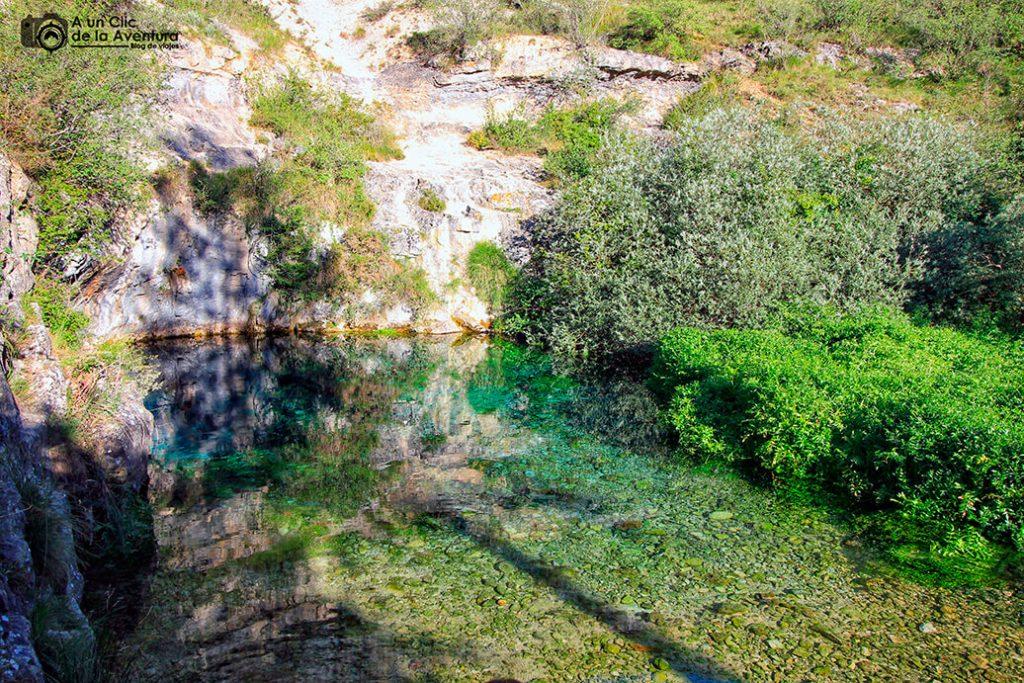 El Pozo Azul de Covanera - Valle de Sedano y Las Loras