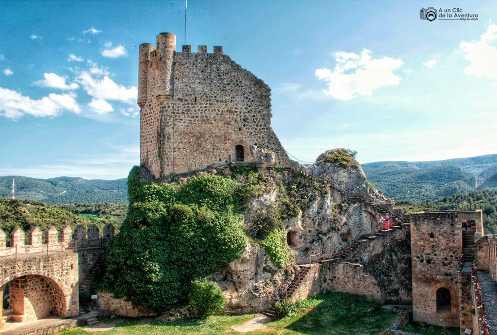 Torre del Homenaje del Castillo de Frías - qué ver en las Merindades de Burgos