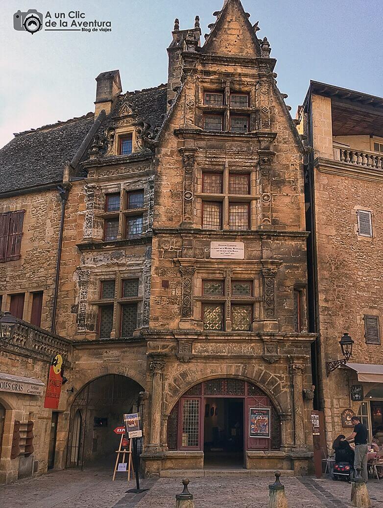 Maison de la Boétie de Sarlat