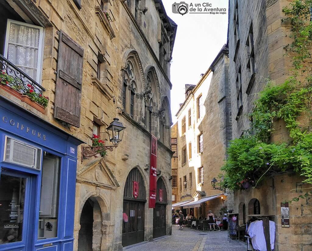 Rue des consuls - Calle de los Cónsules de Sarlat