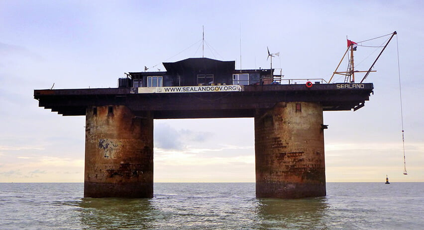 Sealand (foto de Simon Messenger)