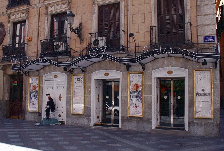 Teatro Joy Eslava, escenario de uno de los crímenes más famosos de Madrid (foto Wikimedia Commons)