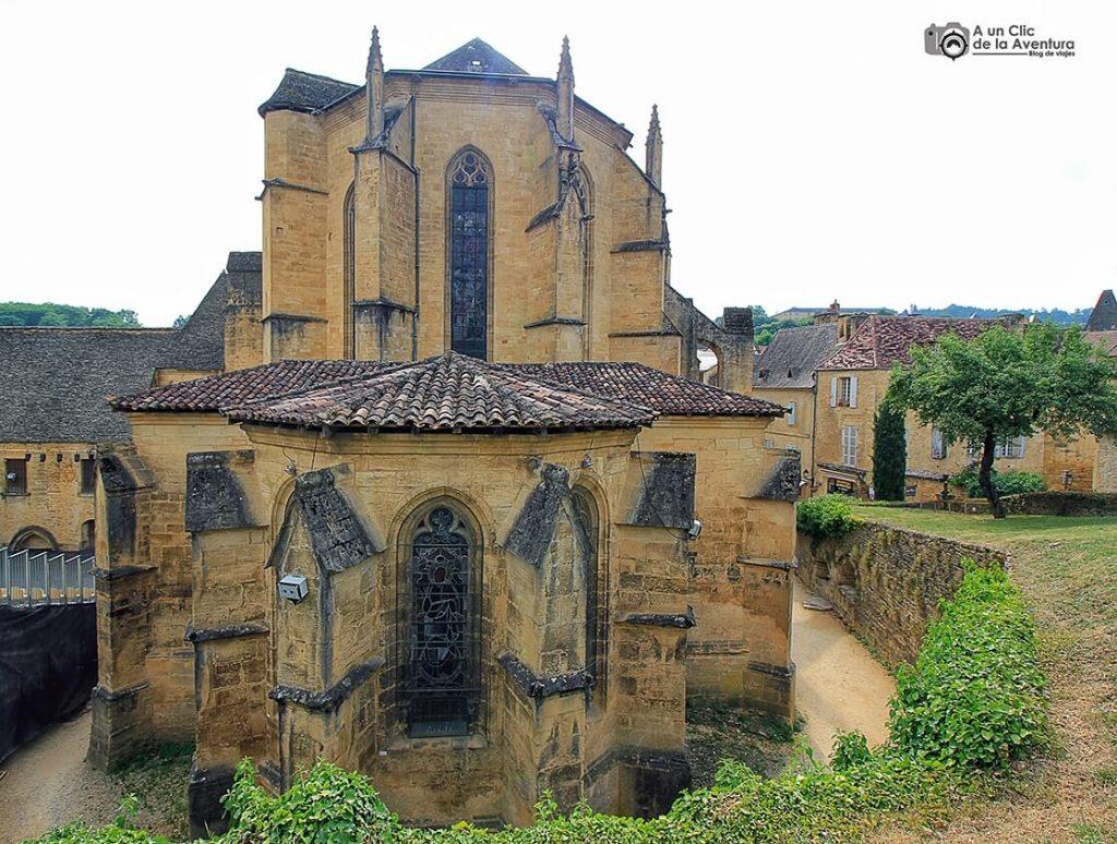 Ábside de la Catedral de Saint Sacerdos de Sarlat