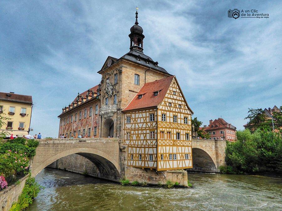 Antiguo Ayuntamiento, una de las cosas imprescindibles que ver en Bamberg