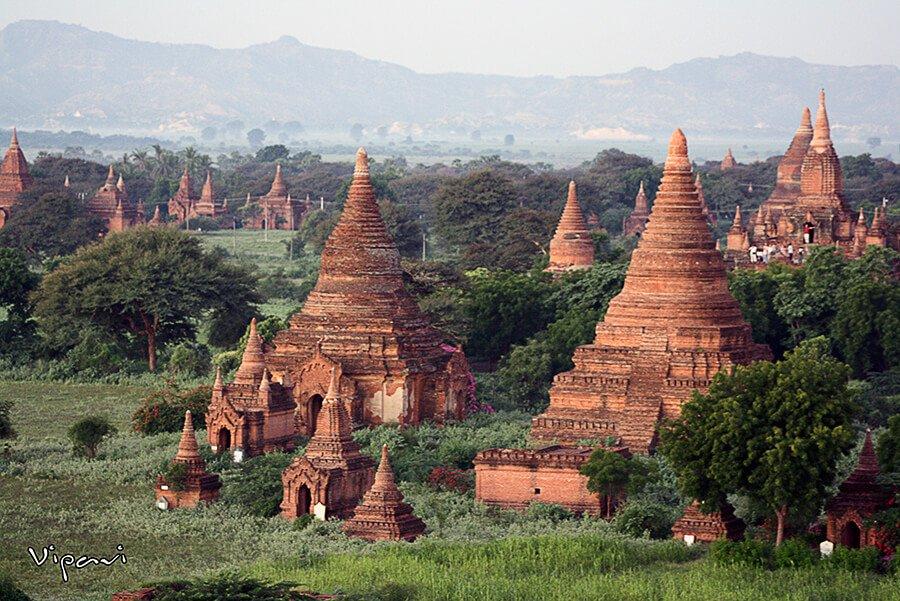 Bagan - paisajes más impresionantes del mundo