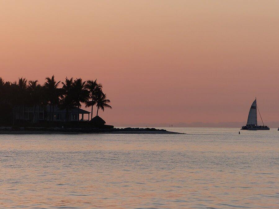Atardecer en Cayo Hueso - paisajes más impresionantes del mundo