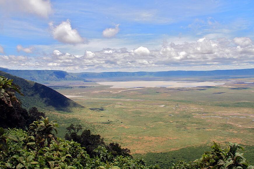 Cráter del Ngorongoro- paisajes más impresionantes del mundo